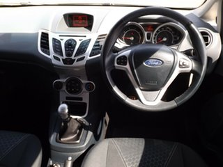 2011 Ford Fiesta WS Zetec 5 Speed Manual Hatchback