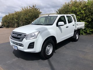 2017 Isuzu D-MAX MY17 SX Crew Cab White 6 Speed Sports Automatic Cab Chassis