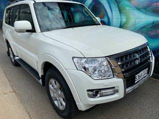 2020 Mitsubishi Pajero NX MY21 GLX White 5 Speed Sports Automatic Wagon.
