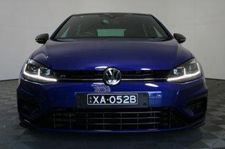 2017 Volkswagen Golf 7.5 MY18 R DSG 4MOTION Wolfsburg Edition Blue 7 Speed.