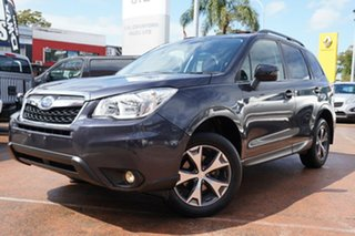 2015 Subaru Forester MY14 2.5I-L Grey Continuous Variable Wagon.