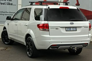 2013 Ford Territory SZ Titanium Seq Sport Shift White 6 Speed Sports Automatic Wagon.