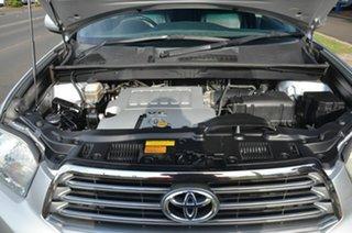 2008 Toyota Kluger GSU45R KX-S (4x4) Silver 5 Speed Automatic Wagon