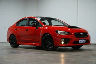 2015 Subaru WRX V1 MY16 Premium Lineartronic AWD Pure Red 8 Speed Constant Variable Sedan.
