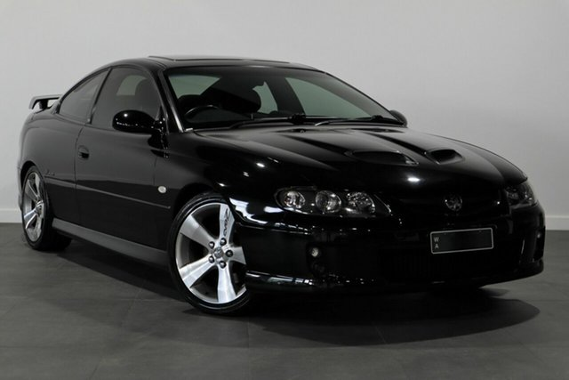 Used Holden Monaro VZ CV8 Z Bayswater, 2005 Holden Monaro VZ CV8 Z Black 6 Speed Manual Coupe