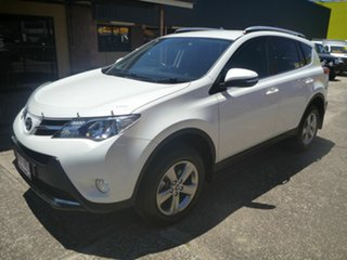 2015 Toyota RAV4 ZSA42R GXL 2WD White 7 Speed Constant Variable Wagon
