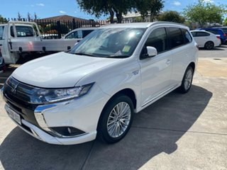 2018 Mitsubishi Outlander ZL MY19 PHEV AWD ES ADAS White 1 Speed Automatic Wagon Hybrid