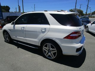 2012 Mercedes-Benz M-Class W166 ML63 AMG SPEEDSHIFT DCT White 7 Speed Sports Automatic Dual Clutch.