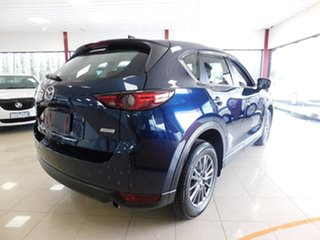 2018 Mazda CX-5 KF2W7A Maxx SKYACTIV-Drive FWD Sport Blue 6 Speed Sports Automatic Wagon.