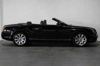 2007 Bentley Continental 3W GTC Black 6 Speed Sports Automatic Convertible