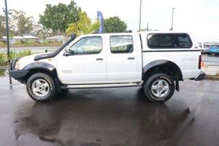 2004 Nissan Navara D22 S2 ST-R White 5 Speed Manual Utility.