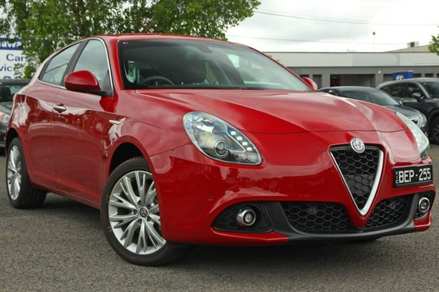 Used Alfa Romeo Giulietta Series 2 Super TCT Nunawading, 2018 Alfa Romeo Giulietta Series 2 Super TCT Red 6 Speed Sports Automatic Dual Clutch Hatchback