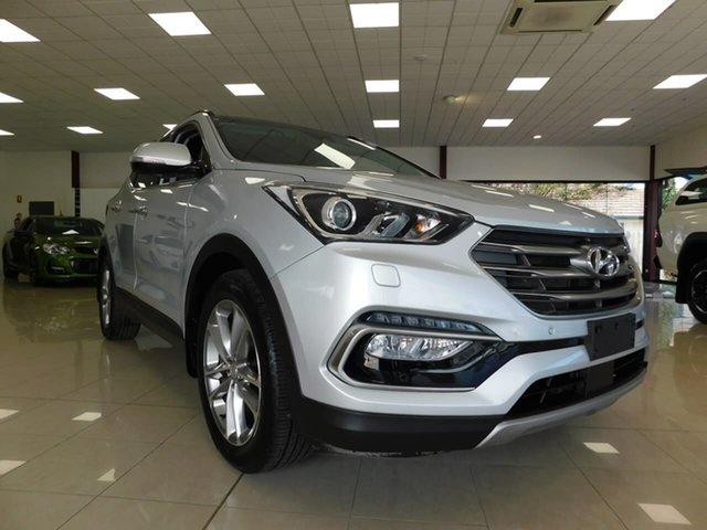 Used Hyundai Santa Fe DM3 MY16 Highlander Wonthaggi, 2016 Hyundai Santa Fe DM3 MY16 Highlander Silver 6 Speed Sports Automatic Wagon