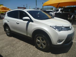 2015 Toyota RAV4 ZSA42R GXL 2WD White 7 Speed Constant Variable Wagon.