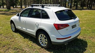 2013 Audi Q5 8R MY13 TDI S Tronic Quattro White 7 Speed Sports Automatic Dual Clutch Wagon