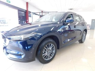 2018 Mazda CX-5 KF2W7A Maxx SKYACTIV-Drive FWD Sport Blue 6 Speed Sports Automatic Wagon