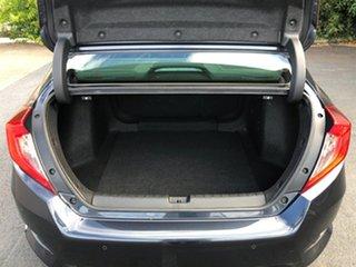 2016 Honda Civic 10th Gen MY16 VTi-LX Grey 1 Speed Constant Variable Sedan