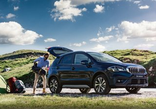 2020 Suzuki S-Cross Turbo (2WD) Indigo Blue 6 Speed Automatic Wagon.