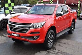 2016 Holden Colorado RG MY16 LTZ Crew Cab 4x2 Red 6 Speed Sports Automatic Utility