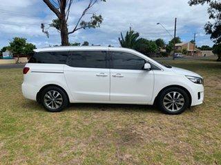 2018 Kia Carnival YP MY18 SLi White 6 Speed Sports Automatic Wagon.