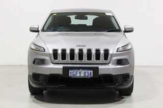 2017 Jeep Cherokee KL MY17 Sport (4x2) Grey 9 Speed Automatic Wagon.