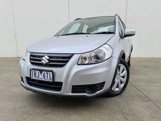 2014 Suzuki SX4 GYA MY13 Crossover Navigator Silver 6 Speed Constant Variable Hatchback.