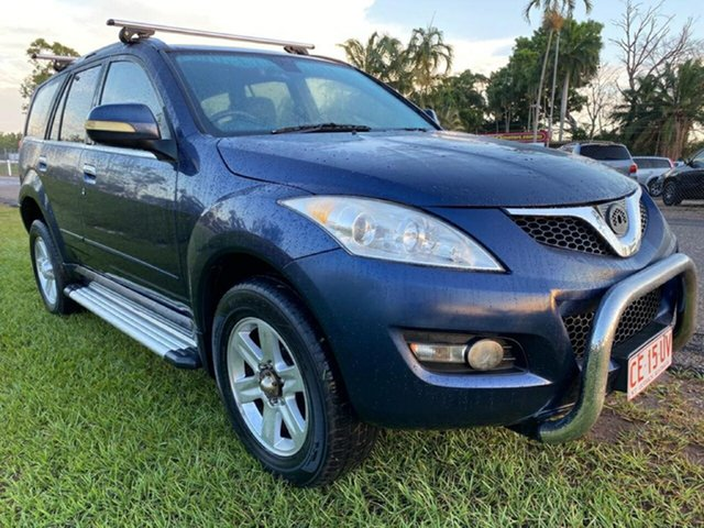 Used Great Wall X240 CC6461KY Pinelands, 2011 Great Wall X240 CC6461KY Blue 5 Speed Manual Wagon