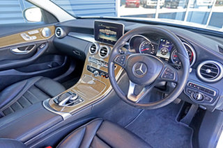 2015 Mercedes-Benz C-Class W205 C250 7G-Tronic + White 7 Speed Sports Automatic Sedan