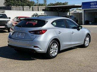 2018 Mazda 3 BN5476 Maxx SKYACTIV-MT Sport Silver 6 Speed Manual Hatchback.
