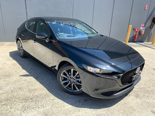 2020 Mazda 3 BP2H7A G20 SKYACTIV-Drive Touring Jet Black 6 Speed Sports Automatic Hatchback.