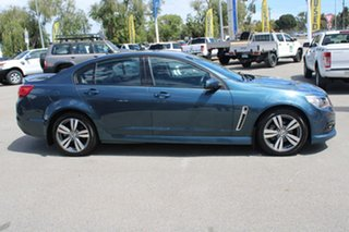 2013 Holden Commodore VF MY14 SV6 Blue 6 Speed Sports Automatic Sedan