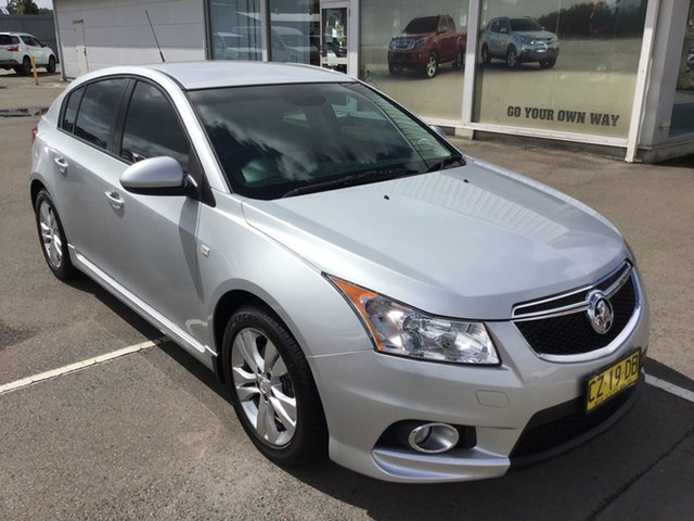 Used Holden Cruze JH Series II MY14 SRi Cardiff, 2013 Holden Cruze JH Series II MY14 SRi Silver 6 Speed Sports Automatic Hatchback