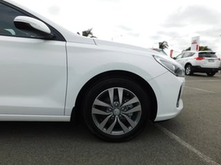 2017 Hyundai i30 GD4 Series II MY17 Active DCT White 7 Speed Sports Automatic Dual Clutch Hatchback