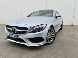 2016 Mercedes-Benz C-Class C205 C300 7G-Tronic + Silver 7 Speed Sports Automatic Coupe.