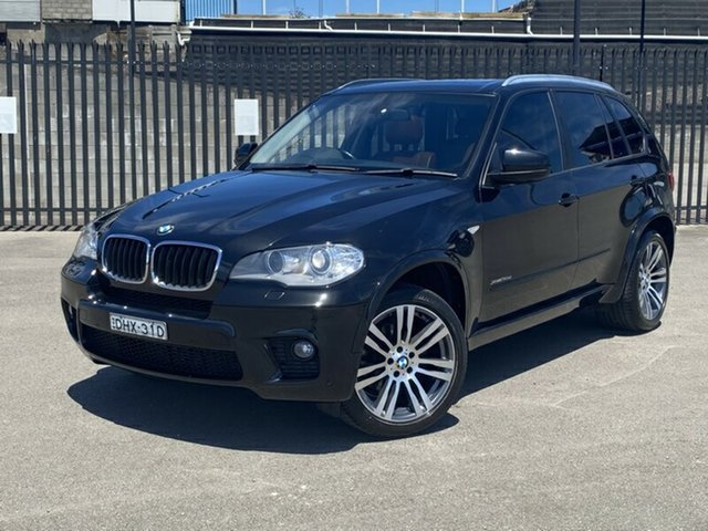 Used BMW X5 E70 MY1112 xDrive30d Steptronic Newcastle, 2013 BMW X5 E70 MY1112 xDrive30d Steptronic Black 8 Speed Sports Automatic Wagon