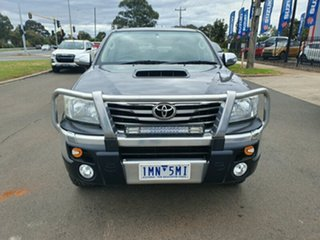 2013 Toyota Hilux KUN26R MY14 SR5 Double Cab Grey 5 Speed Automatic Utility