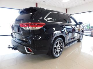 2018 Toyota Kluger GSU55R Grande AWD Black 8 Speed Sports Automatic Wagon