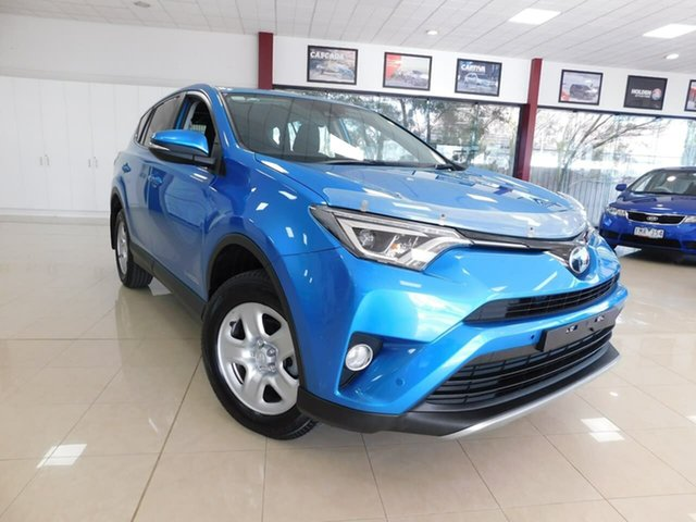 Used Toyota RAV4 ALA49R GX AWD Wonthaggi, 2017 Toyota RAV4 ALA49R GX AWD Blue 6 Speed Sports Automatic Wagon