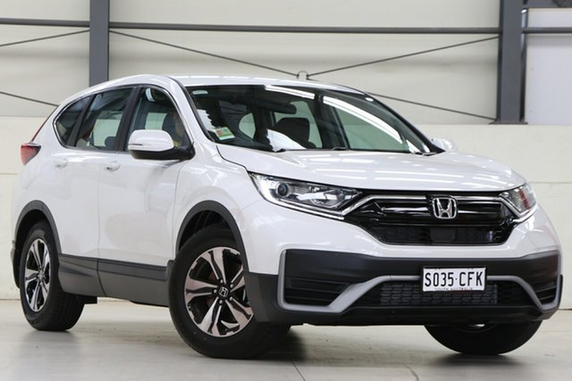 Demo Honda CR-V RW MY21 VTi FWD 7 Glen Osmond, 2020 Honda CR-V RW MY21 VTi FWD 7 Platinum White 1 Speed Constant Variable Wagon