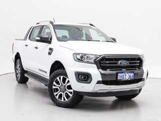 2018 Ford Ranger PX MkIII MY19 Wildtrak 3.2 (4x4) White 6 Speed Automatic Dual Cab Pick-up.