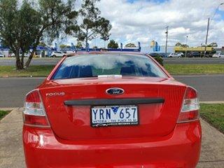 2009 Ford Focus LV CL Red 5 Speed Manual Sedan