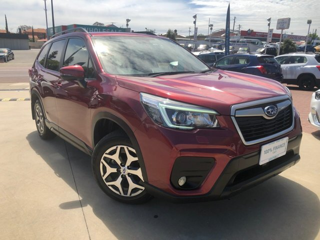 Used Subaru Forester S5 MY19 2.5i CVT AWD Victoria Park, 2019 Subaru Forester S5 MY19 2.5i CVT AWD Red 7 Speed Constant Variable Wagon