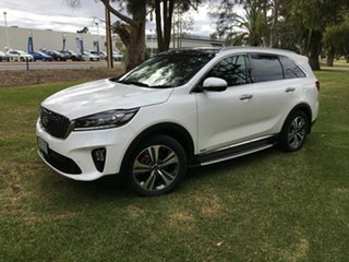 2018 Kia Sorento UM MY18 GT-Line AWD Snow White Pearl 8 Speed Sports Automatic Wagon.