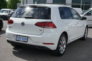 2017 Volkswagen Golf 7.5 MY17 110TSI DSG Trendline Pure White 7 Speed Sports Automatic Dual Clutch