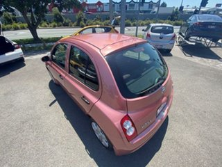2009 Nissan Micra K12 Pink 4 Speed Automatic Hatchback.