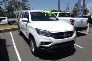 2020 Ssangyong Musso Q201 MY20.5 ELX Crew Cab XLV White 6 Speed Sports Automatic Utility