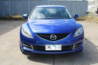2008 Mazda 6 GH Limited Blue 5 Speed Auto Activematic Sedan.