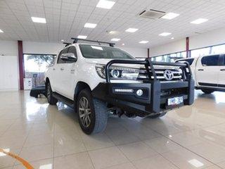 2015 Toyota Hilux GUN126R SR5 White Sports Automatic.