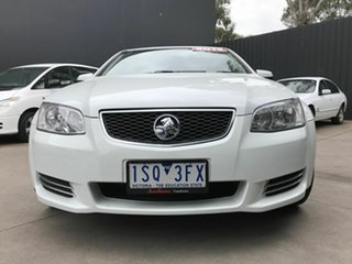 2012 Holden Commodore VE II MY12 Omega (LPG) White 6 Speed Automatic Sedan.