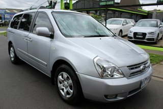 2009 Kia Grand Carnival VQ EXE Silver 5 Speed Sports Automatic Wagon.